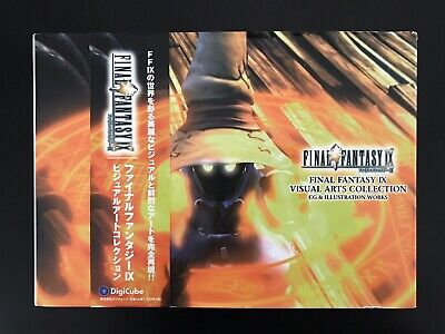 Final Fantasy IX Visual Art Collection Square Art Book