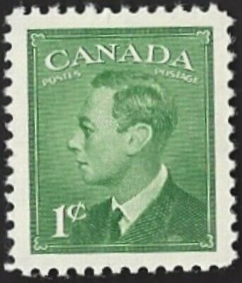 Canada  # 284 King George VI Postes - Postage    Brand New 1949 Pristine Issue