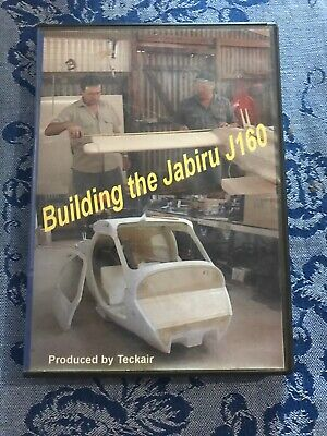 Building The Jabiru J160  DVD Rare Teckair