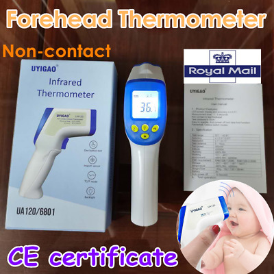 Baby Forehead Body Thermometer Digital IR Infrared Termometer Non-Contact lot UK