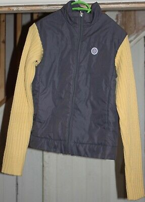Fabulous girls Nike grey/yellow sports jacket age 12-14yr
