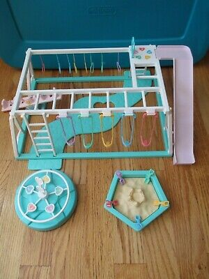 Playground Playset for Quints Baby Dolls by Tyco, 1990