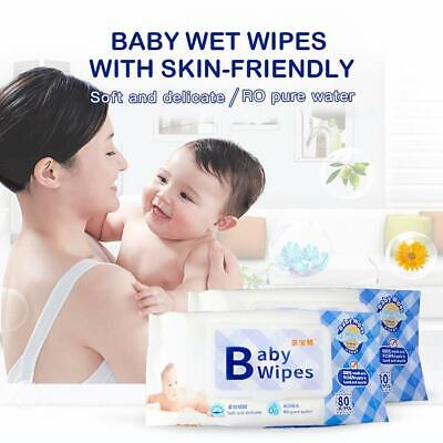 sell Baby Cleaning Wet Wipes Unscented, 80pcs/pack, 6 pack