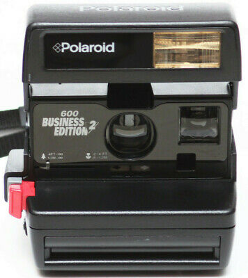 Vintage Polaroid Business 2 Edition 600 Film Instant Camera Fully Operational