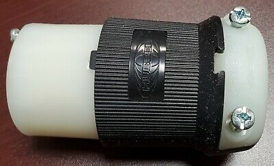 Hubbell HBL2713 Insulgrip Twist-Lock Female Connector 30A 125/250V 3 Pole 4 Wire