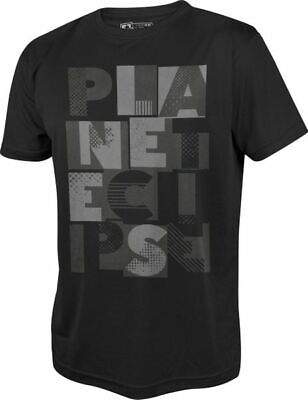 T-Shirt Planet Mens Pro-Formance Lanes black