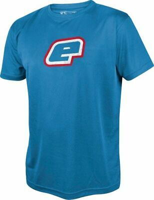 T-Shirt Planet Mens Pro-Formance Retro blue