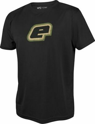T-Shirt Planet Mens Pro-Formance Retro black