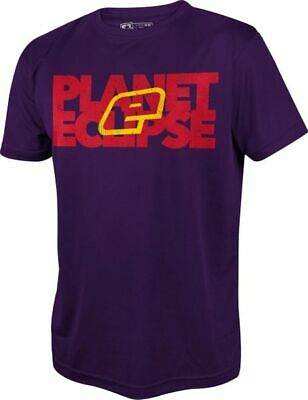 T-Shirt Planet Mens Pro-Formance Blok purple