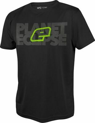 T-Shirt Planet Mens Pro-Formance Blok black