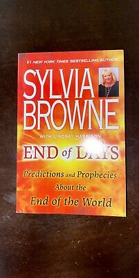 Sylvia Browne End Of Days - Predictions and Prophecies PAPERBACK NEW_