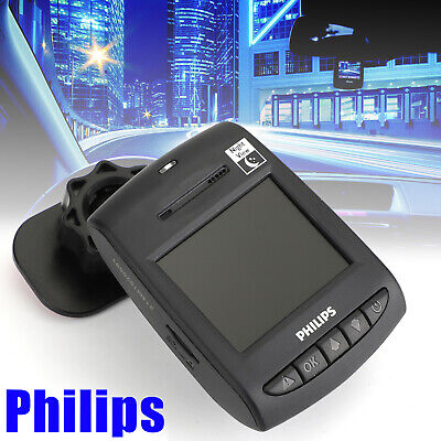 For PHILIPS Full HD Car Videorecord fahren Dashcams Collision Detection
