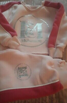 Girls Fab Mckenzie Pink Jogging Suit Age 3 - 4