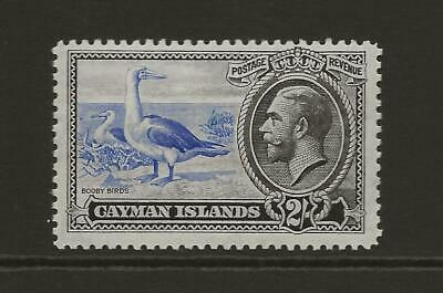 CAYMAN ISLANDS 1935 KGV SG105 2s Ulltramarine and Black Fine MINT Cat £50