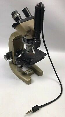 Vickers Instruments Binocular Microscope With 4 Vickers Lens