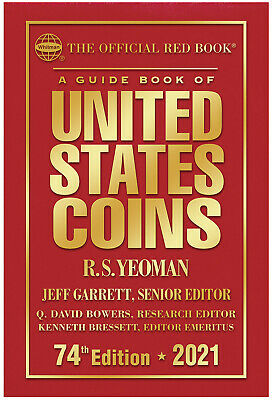 Whitman's Official Red Book Guide of United States Coins 2021 (Hard Cover)