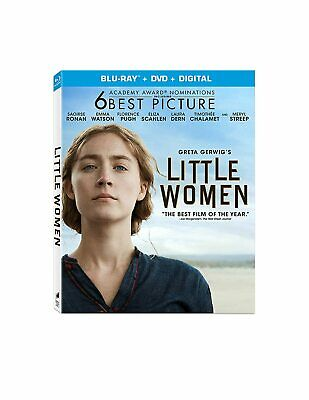 Little Women Blu-Ray Dvd Digital Greta Gerwig Saoirse Ronan Florence Pugh