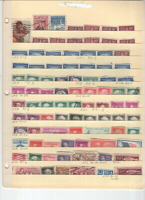 Us Assortment On 21 Manila Stock Pages!
