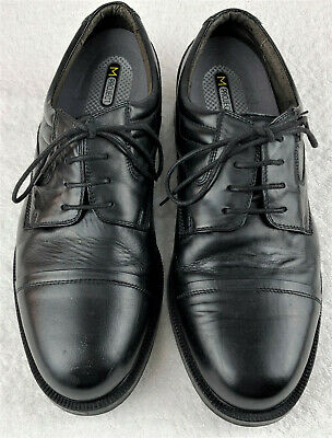 Mens Julius Marlow Black Leather Lace-up Shoes Size 10 Rubber Sole