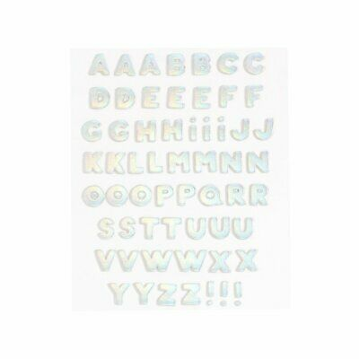 ban.do Leatherette Plushie Stickers (Alphabet)