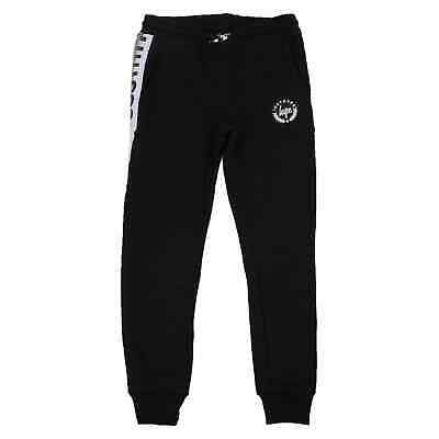 Hype Speckle Tape Kids Jogging Bottoms - Black