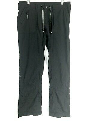 The North Face Women's Black Convertible Outdoor Hiking Pants Size 8