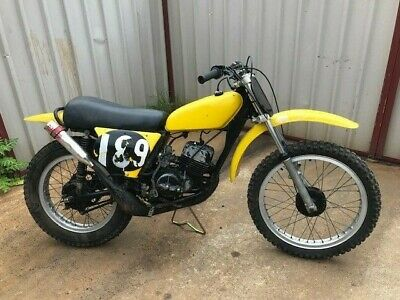 Suzuki TM125 1973 VMX Flat track racer starts and goes well Very rare classic MX