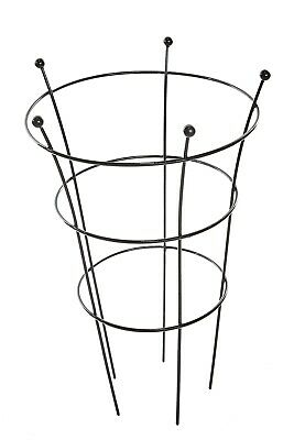 Peony Garden Supports Herbaceous Plant Cone Metal Frames 5 Leg Heavy Duty Medium