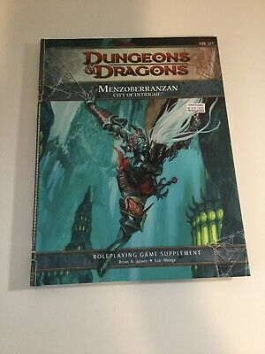 Dungeons And Dragons Menzoberran City Of Intrigue Roleplaying Game Supplement
