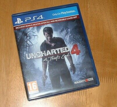 PS4 game Uncharted 4 - A Thief's End