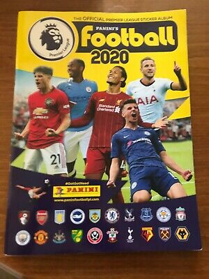 Panini Football 2020 Premier League Official Sticker Album Book - New
