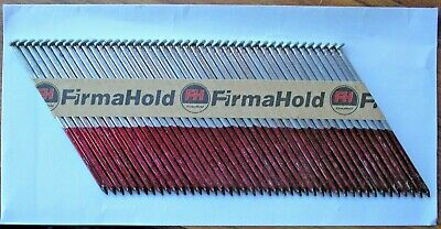 Firmahold 1st fix Framing Straight Shank Galvanised 90mm strip 43 Nail Gun nails