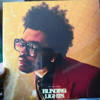 """The Weeknd -Blinding Lights Rare UK 7"""" Vinyl Brand New Sealed collectors edition"""