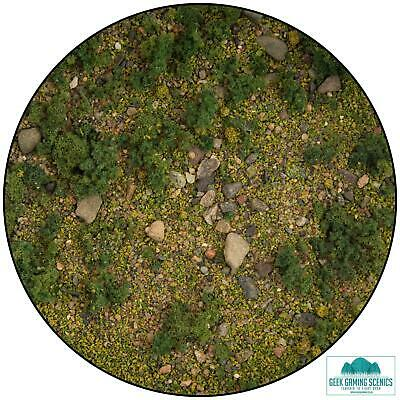 Lukes Aps Base Ready Scrublands for Model Railway Architecture Warhammer Scenery