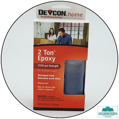 Devcon 2 Ton Epoxy (2x 4.25oz Bottle, Boxed)