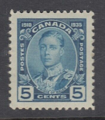 """% Canada MINT NG Scott #214 5 cent Prince of Wales  """"KGV Silver Jubilee""""  HCV"""