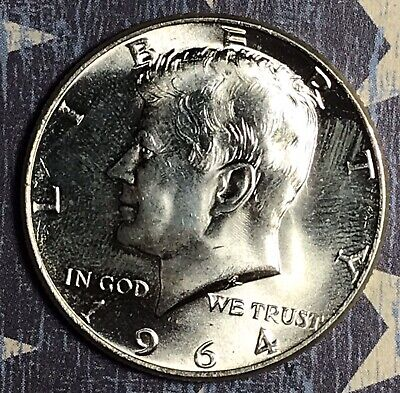 1964 Kennedy Silver Half Dollar. Collector Coin for your Set or Collection.