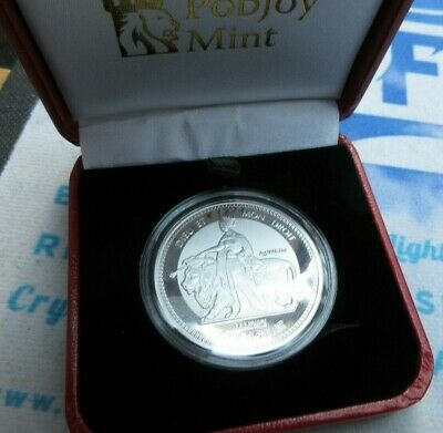 2019 Bicentenary of Queen Victoria Una and the Lion Reverse Frosted Silver COIN