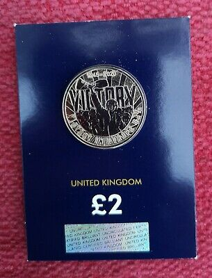 2020 Victory In Europe £2 Coin Certified Brilliant Uncirculated VE Day BUNC