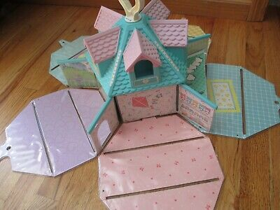 Quints Doll House for Five for Quints Baby Dolls by Tyco, 1990