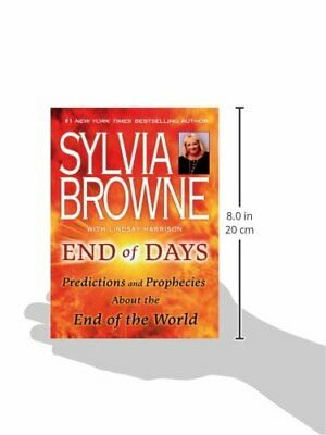 Sylvia Browne End Of Days - Predictions and Prophecies [Paperback] - NEW