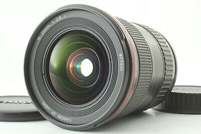 Optics Clear!!【Near MINT】 CANON EF 16-35mm F2.8 L USM Wide Angle Zoom Lens JAPAN