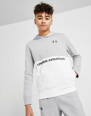 New Under Armour Boys' Sportstyle Double Knit Hoodie