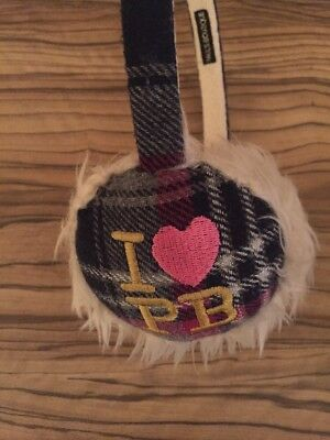 Paul's Boutique 'I ❤️ PB' earmuffs - one size - only worn a few times!!