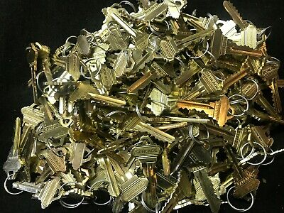 100 Pair Factory cut Schlage Keys 6 Pin 200 pieces.