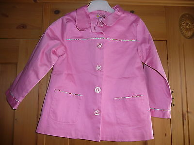 Molly n Jack pink coat - 4Y - only worn once or twice!!