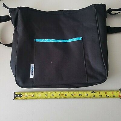Nestle Baby Diaper Bag Black With Change Pad