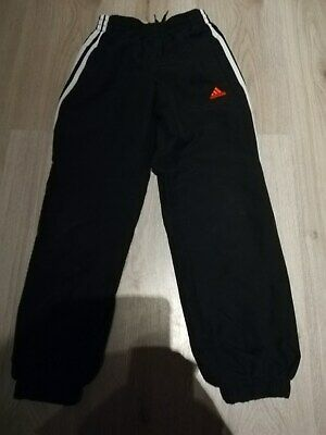 Boys/Girls Adidas Age 9-10 Tracksuit Bottoms/Joggers/Sports 99P Bargain
