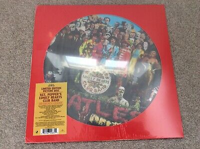The Beatles - Sgt Pepper Limited Edition Vinyl LP Picture Disc (Sealed)