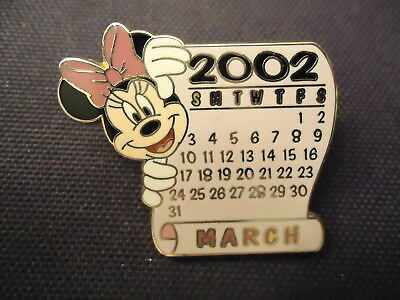 Disney Ds 12 Months Of Magic Calendar Series Minnie Mouse March Pin